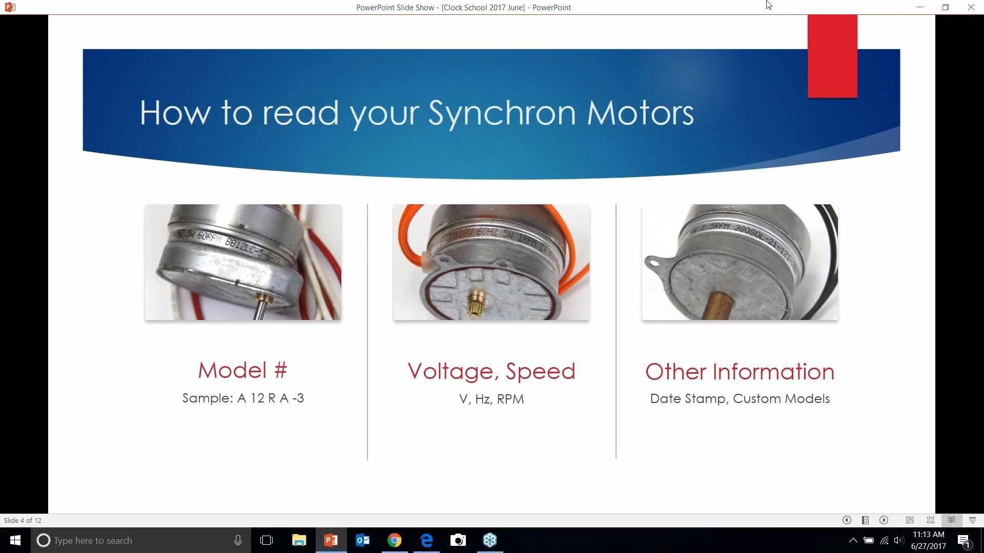 Synchron-Motor